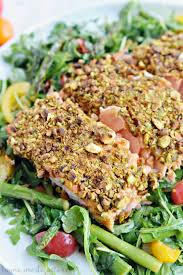 pistachio crusted salmon and the kitchen of my dreams home made