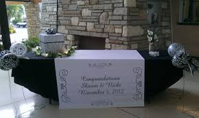 wedding gift table weddings personal touch catering