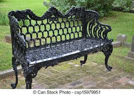 iron park benches ornate iron park bench a black painted decorative iron park