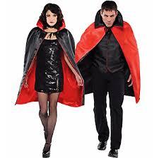 Vampire Cape Red Black Reversible Vampire Cape Halloween Costumes