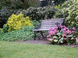 Cool Garden Bench Garden Bench Decorating Ideas Streamrr Com