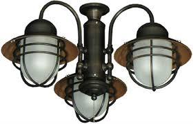 wagon wheel ceiling fan light lantern ceiling fan popular 3 adaptable outdoor light kit 362 in oil