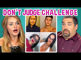 Challenge React Adults React To Don T Judge Challenge Dontjudgechallenge