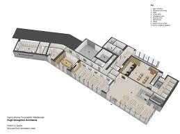 isometric floor plan gallery of henry moore studios u0026 gardens hugh broughton