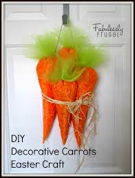 Diy Easter Gifts Decorative Carrots Easter Craft