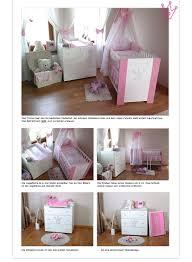 babybett und wickelkommode set krone rosa komplett set babybett kinderbett wickelkommode