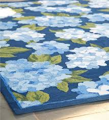 Indoor Outdoor Rug Hydrangeas Indoor Outdoor Rug 3 U00275
