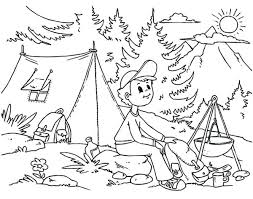 Summer Coloring Activities Holidayvillas Co Summertime Coloring Pages