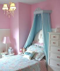 Girls Bed Curtain Bed Fabric Canopy Carved Wood Bed Crown With Full Length