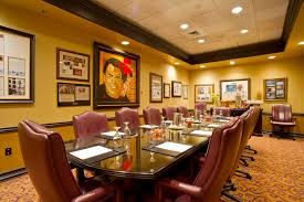 Bohemian Dining Room by Orlando Meetings Grand Bohemain Hotel