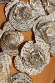 bouquet en papier the 25 best book page flowers ideas on pinterest book flowers