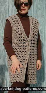 free crochet patterns for sweaters abc knitting patterns crochet vests 4 free patterns
