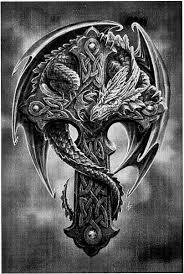 tattoo cross dragon pin by paige denise on fairies dragon s pinterest tattoo