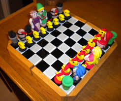 classic video game chess set 8 steps