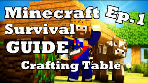how to make a crafting table in minecraft all version youtube