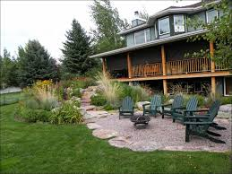 exteriors magnificent rock patio designs small rock patio river