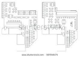 plan architecture office floor plan vectors download free vector art stock standard