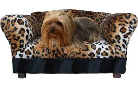 sofa bed pet mini sleep seat comfort ultra soft fabrics faux fur