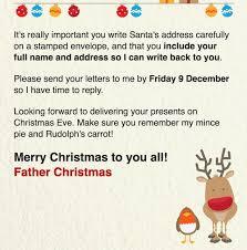 free letter santa claus u0027 address
