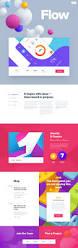 flow design studio colorful ui design concept by mike creative