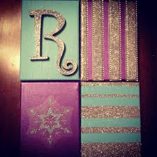 Pinterest Canvas Ideas by Frozen Inspired Wall Canvases For Rylee U0027s Room Pinterest