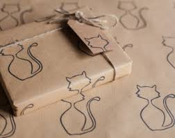 cat wrapping paper multi pack cat wrapping paper includes 4 x gift wrap 4 x