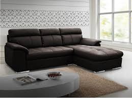 canapé d angle droit pas cher canapé d angle en cuir mariani chocolat angle droit prix promo