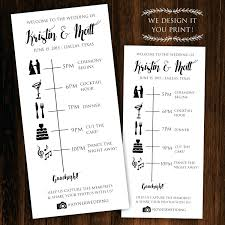 wedding day programs template wedding day timeline template word printable itinerary
