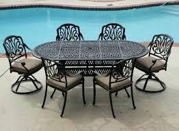 Cast Aluminum Patio Furniture Sets Cast Aluminum Patio Table Juniorderby Me