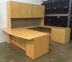 Used U Shaped Desk Used Knoll Office Desks Archive Furniturefinders