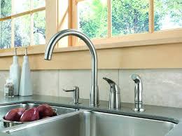 peerless pull kitchen faucet peerless sink faucet repair delta peerle kitchen 2 lever handle