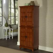Oak Kitchen Pantry Cabinet Kitchen Room 2017 Decoration Furniture Unfinished Painting Oak