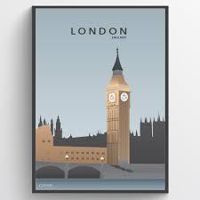 london big ben plakat wallsticker fra kun 149 kr london big ben plakat wallsticker