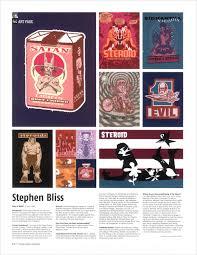 Magazine Usa New York Based Artist U0026 Illustrator Press Page U2014 Stephen Bliss