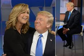 lara spencer gets heat for cozy trump photo page six