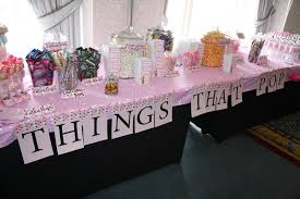 baby shower table decoration ideas home design