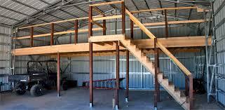 building a loft in garage superb metal building loft 9 30x40 building with a loft joy