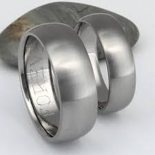 matching titanium wedding bands matching titanium wedding band set stn11 titanium rings studio