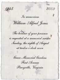 funeral service announcement wording 10 best images of memorial service invitation wording ideas