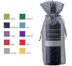 wine gift bag sheer wine gift bags