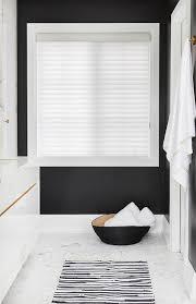 Black Bathroom Rug Black Bathroom Walls With Striped Rug Modern Bathroom
