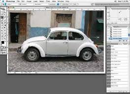 changing a white object to black adobe photoshop