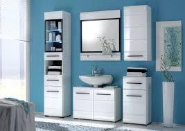badezimmer set günstig badmöbel badezimmer sabine 5tlg set in hochglanz weiss ohne