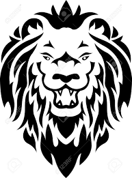 lion tribal tattoo royalty free cliparts vectors and stock