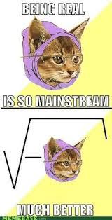 Hipster Cat Meme - 25 geeky math jokes to celebrate pi day math jokes buzzfeed and math