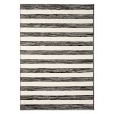 outdoor rug worn stripe black u0026 white threshold target