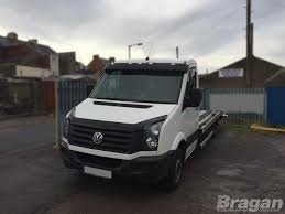 volkswagen crafter back to fit 2006 2014 vw crafter acrylic sun shade visor smoked