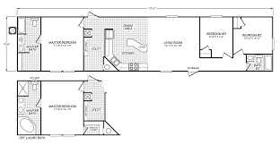 velocity model ve16723v manufactured home floor plan or modular