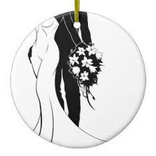 and groom silhouette ornaments keepsake ornaments zazzle