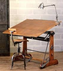 Wooden Drafting Table Wood Drafting Table Vintage Antique Drafting Table For Sale